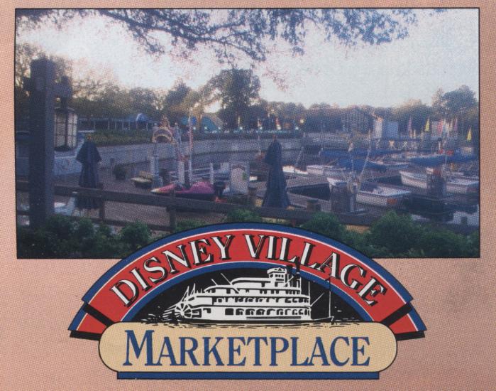 Disney Village Market Place – early '90's brochure