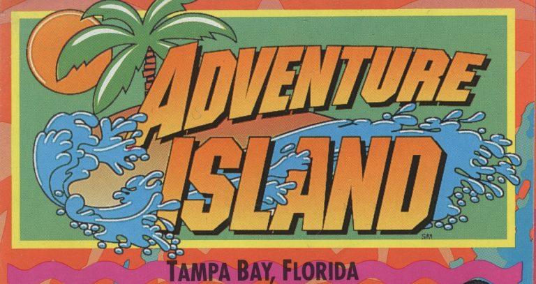 Adventure Island (Tampa) – 1993 Brochure