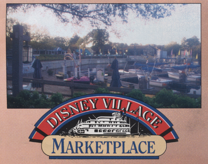 Disney Village Market Place – early '90's brochure