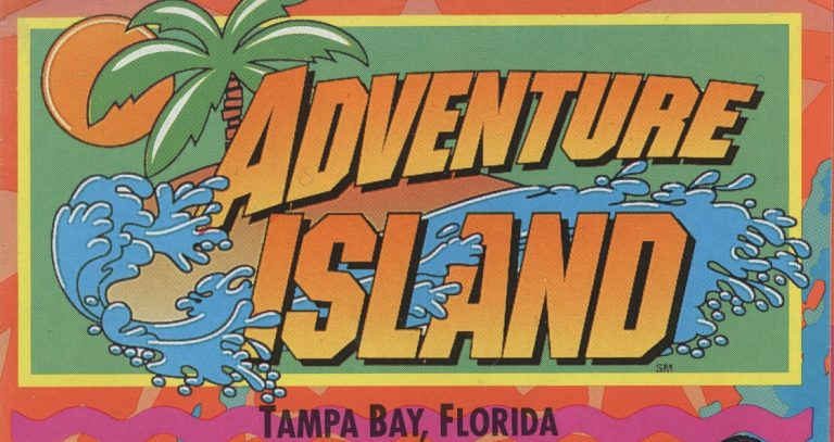 Adventure Island (Tampa) – 1993 Brochure
